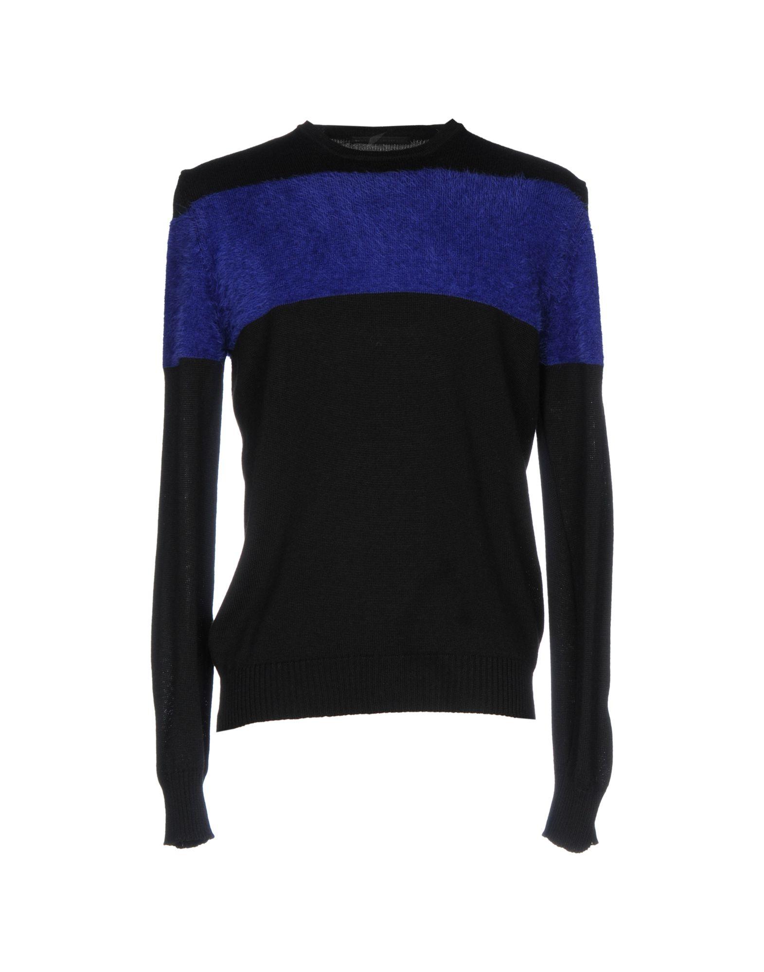 DANIELE ALESSANDRINI Herren Pullover Farbe Schwarz Größe 4 - broschei