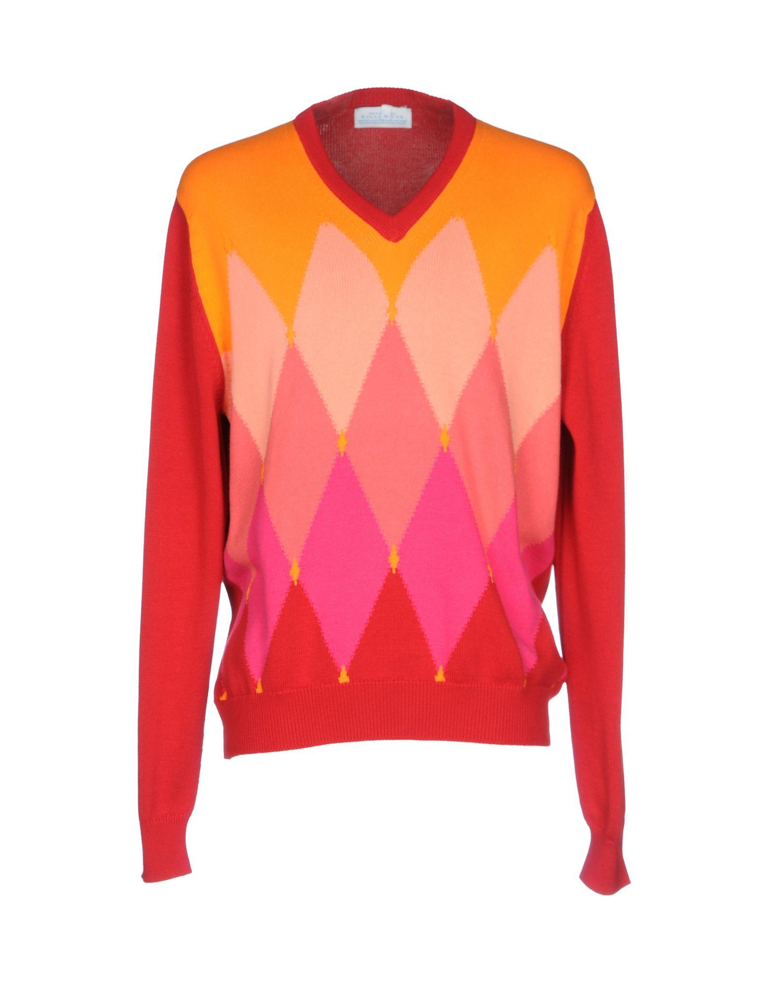 BALLANTYNE Herren Pullover Farbe Rot Größe 3 - broschei