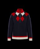 MONCLER ZIPPED SWEATER - Sweaters - women