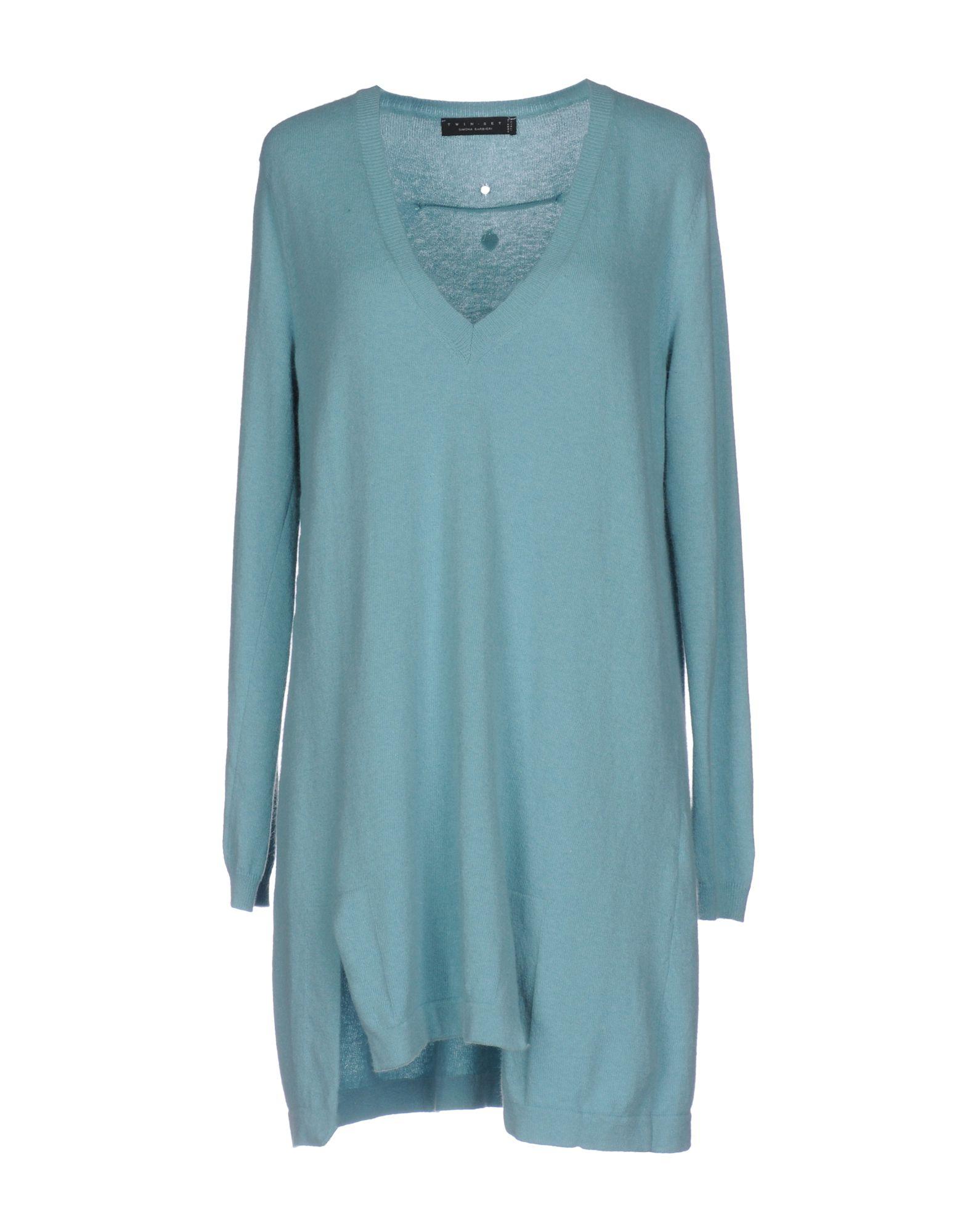 TWIN-SET Simona Barbieri Damen Pullover Farbe Himmelblau Größe 6 - broschei