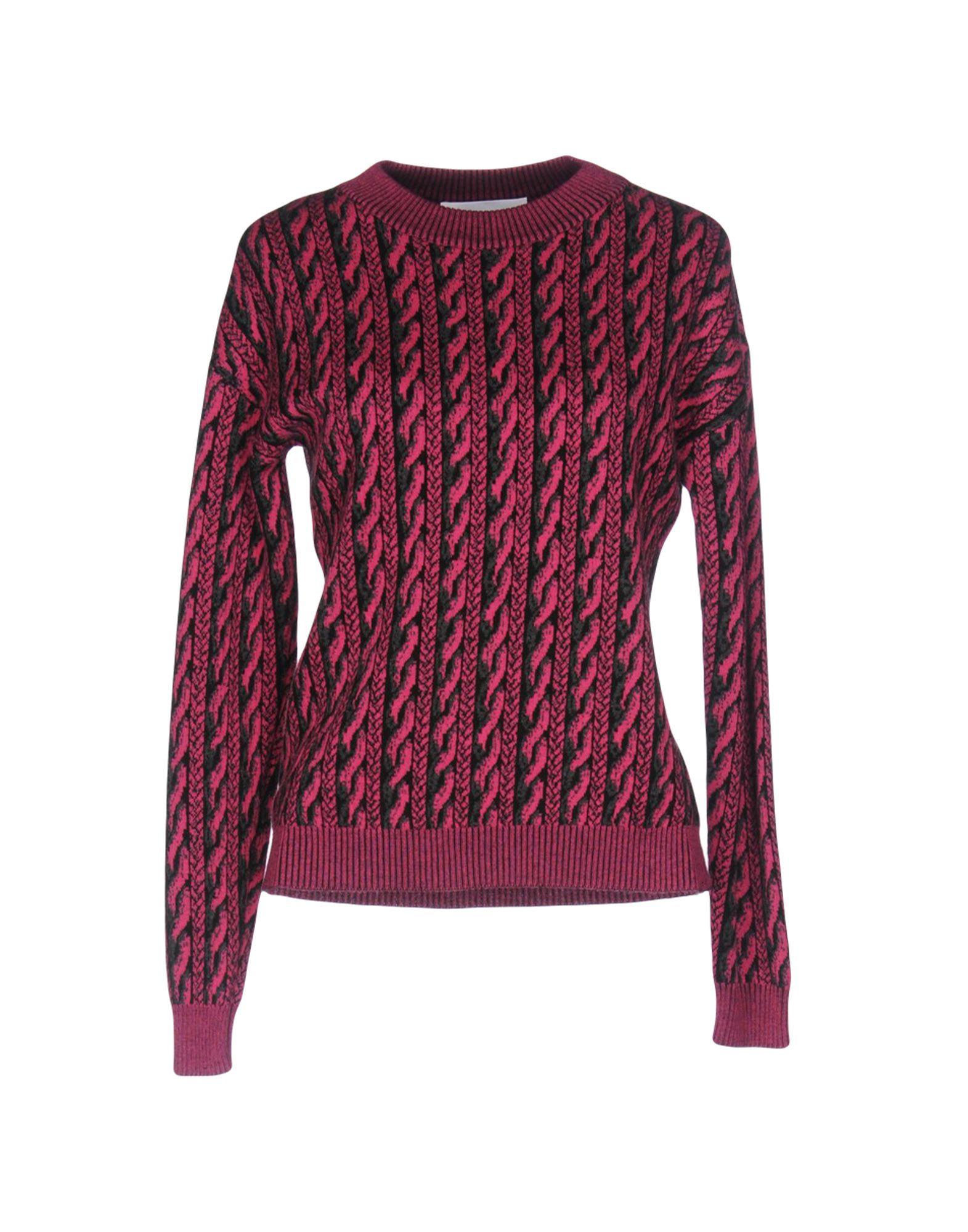 MOSCHINO COUTURE Damen Pullover Farbe Fuchsia Größe 4 jetztbilligerkaufen