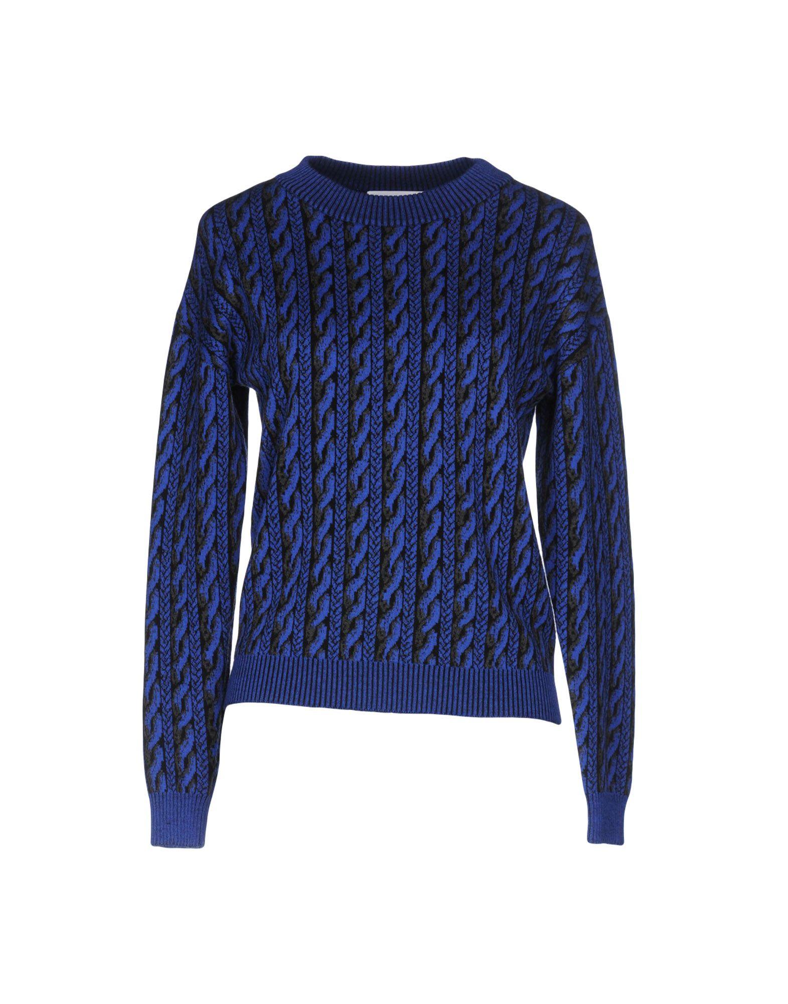 MOSCHINO COUTURE Damen Pullover Farbe Blau Größe 5 - broschei