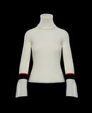 MONCLER HOODED JUMPER - High necks - women