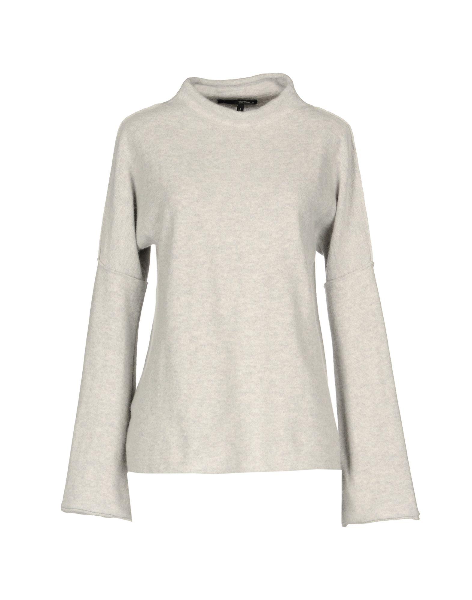 TORTONA 21 Damen Pullover Farbe Hellgrau Größe 5 - broschei