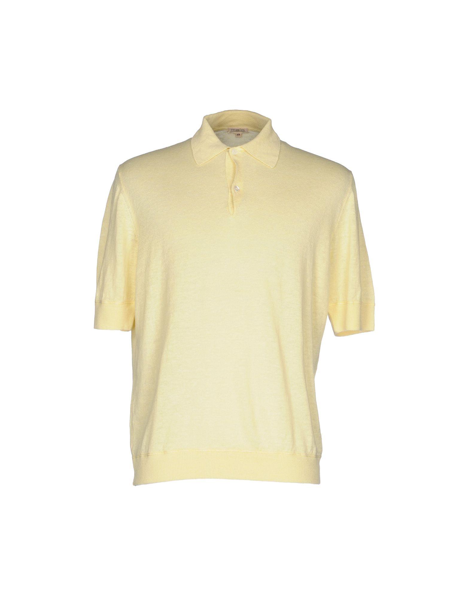 MALO Herren Pullover Farbe Gelb Größe 3 - broschei