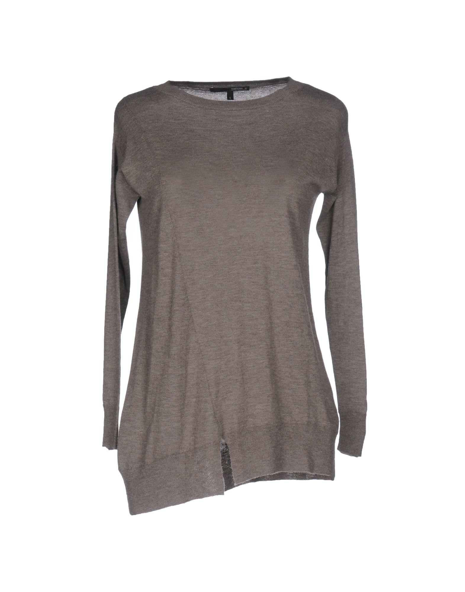 TORTONA 21 Damen Pullover Farbe Grau Größe 7 - broschei
