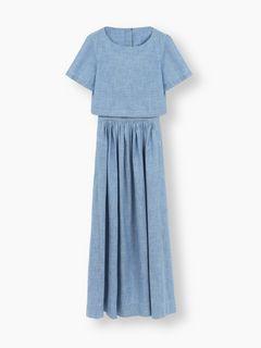Back-button dress