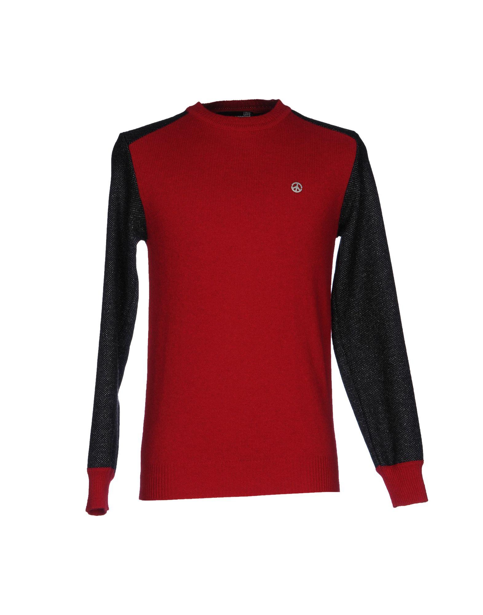 LOVE MOSCHINO Herren Pullover Farbe Rot Größe 5