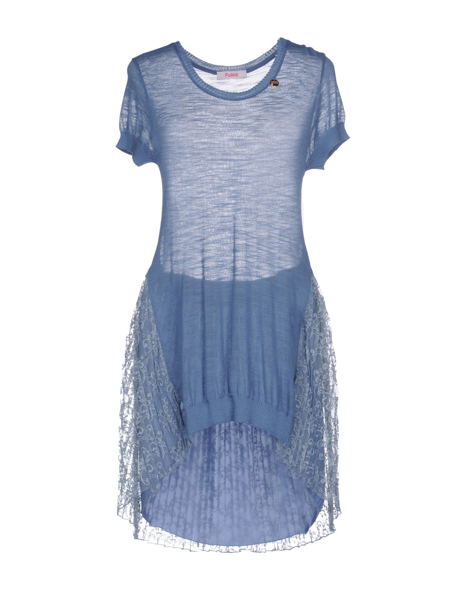 BLUGIRL FOLIES Свитер платье трикотаж blugirl folies платья и сарафаны мини короткие