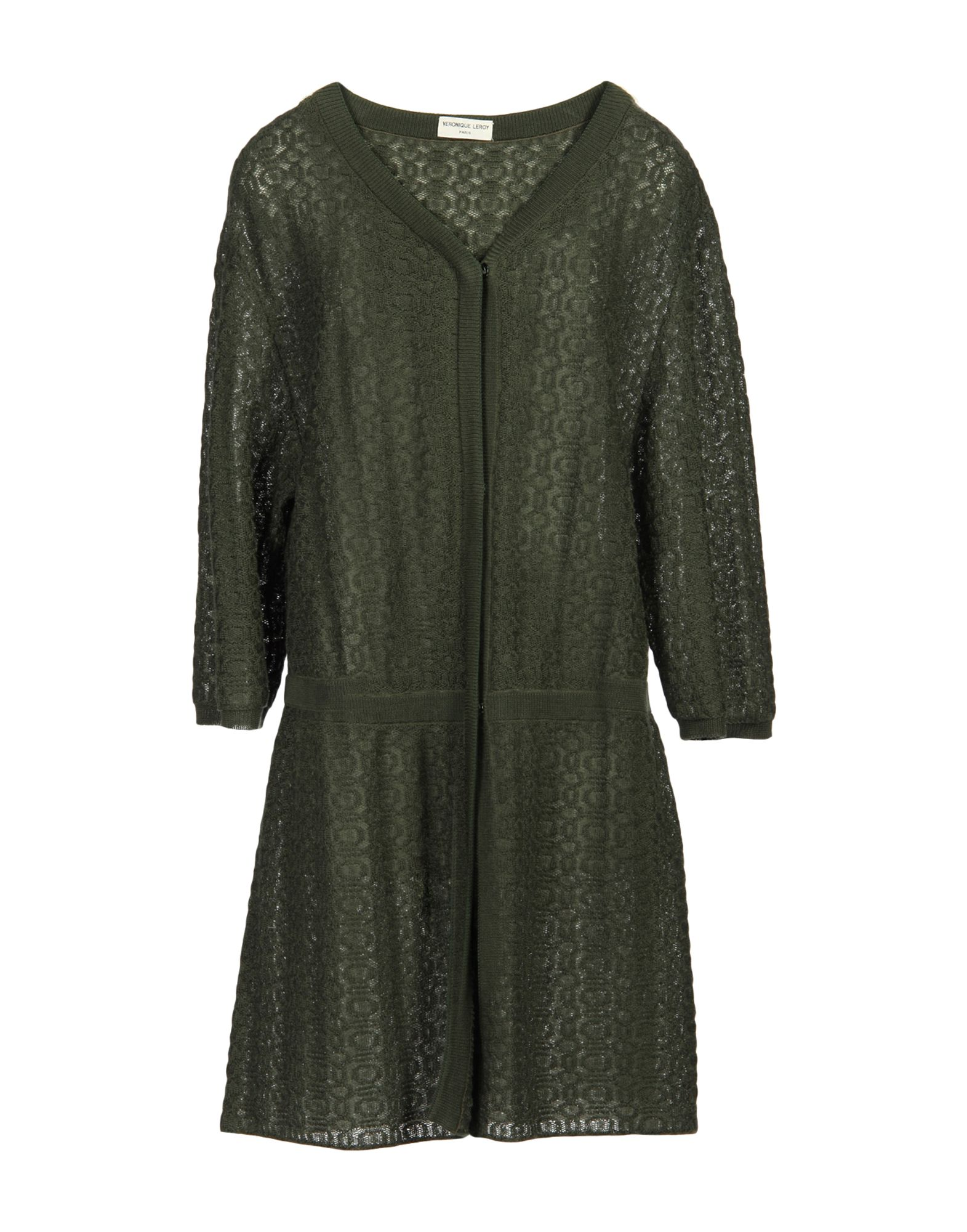VERONIQUE LEROY Cardigans in Military Green