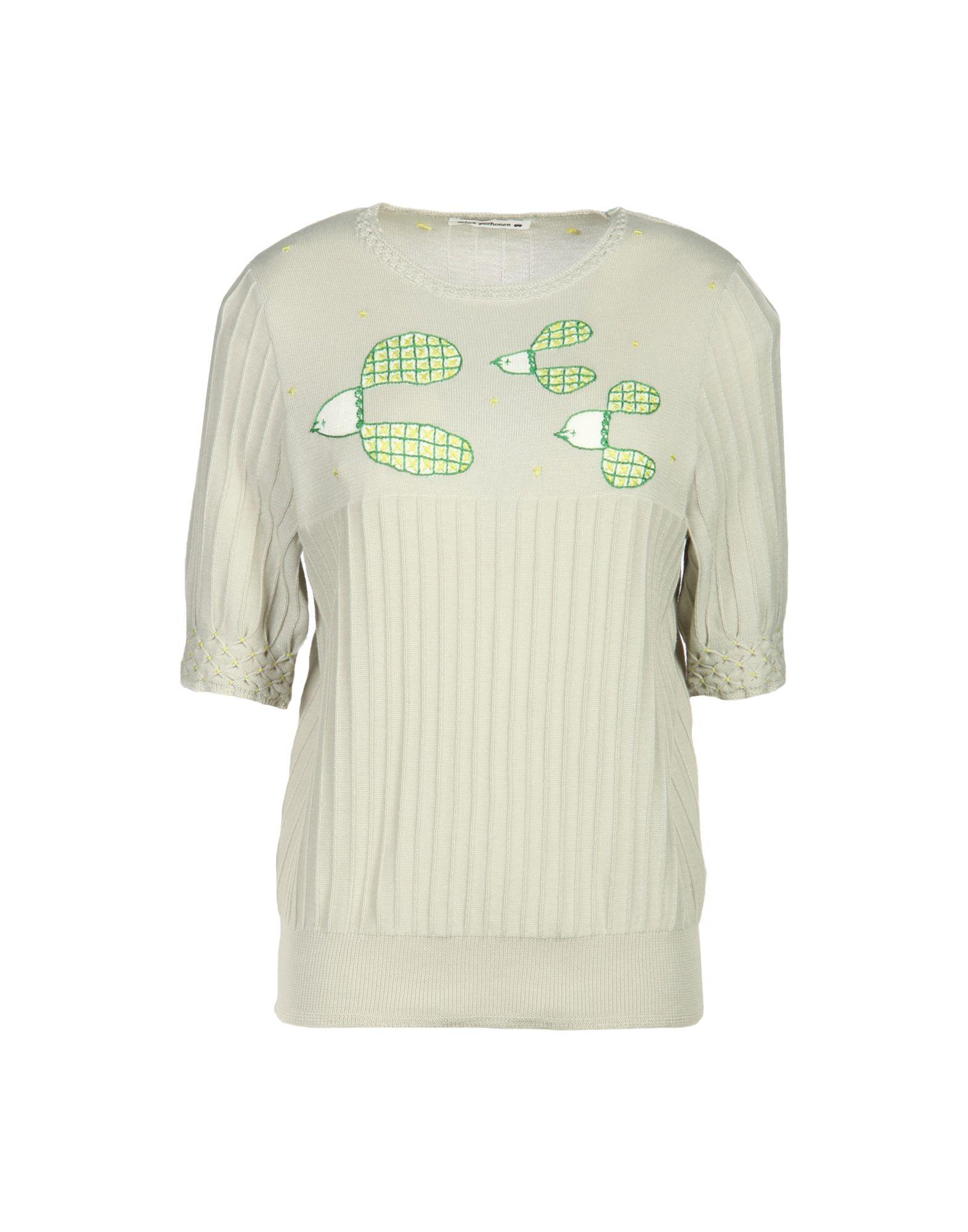 MINÄ PERHONEN Sweater in Light Grey