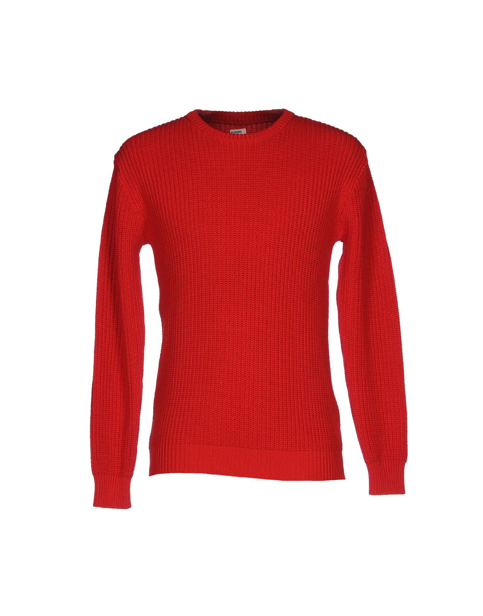 MT. RAINIER DESIGN Sweater in Red