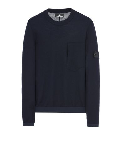 504A5 CATCH POCKET CREWNECK (PURE WOOL/NYLON DETAILS, 12 GAUGE)