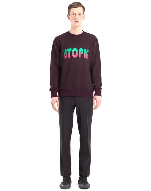 "lanvin ""utopia"" sweatshirt men"