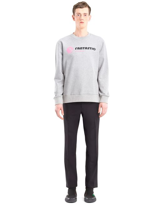 "lanvin ""fantastic utopia"" sweatshirt men"