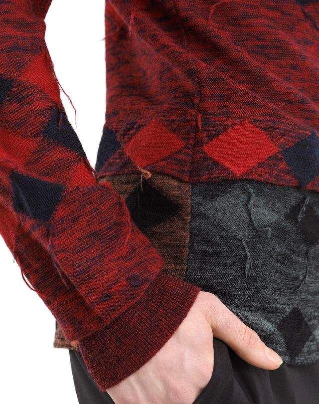 LANVIN PATCHWORK JUMPER Knitwear & Jumpers U a