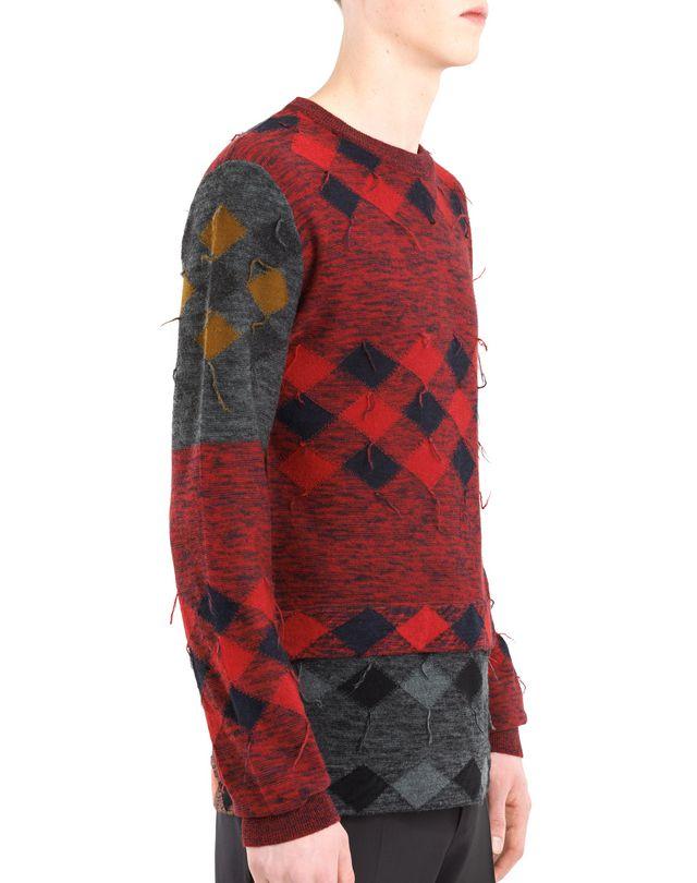 LANVIN PATCHWORK SWEATER Knitwear & Sweaters U b
