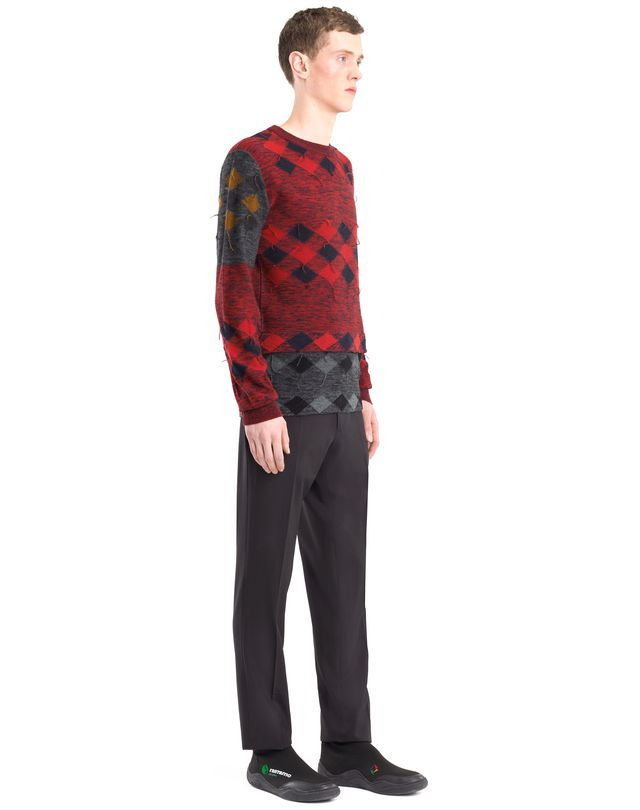 LANVIN PATCHWORK JUMPER Knitwear & Jumpers U e