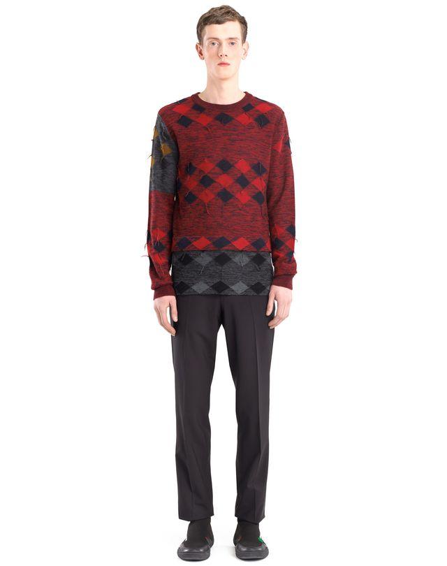 LANVIN PATCHWORK JUMPER Knitwear & Jumpers U r