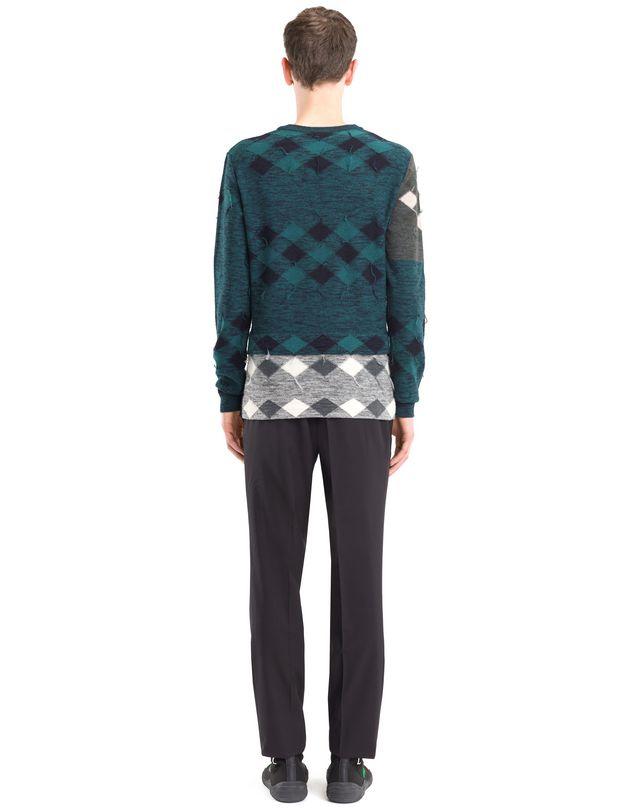 LANVIN PATCHWORK SWEATER Knitwear & Sweaters U d