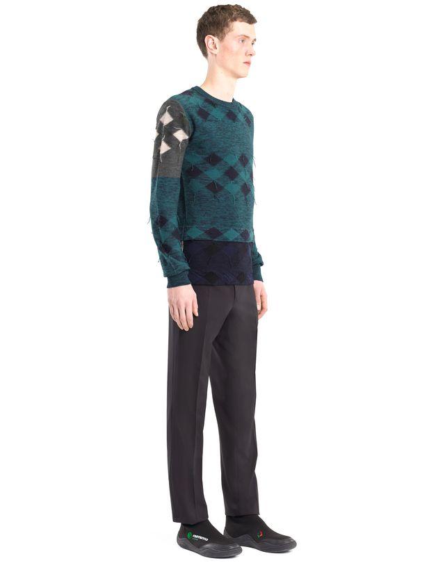LANVIN PATCHWORK SWEATER Knitwear & Sweaters U e