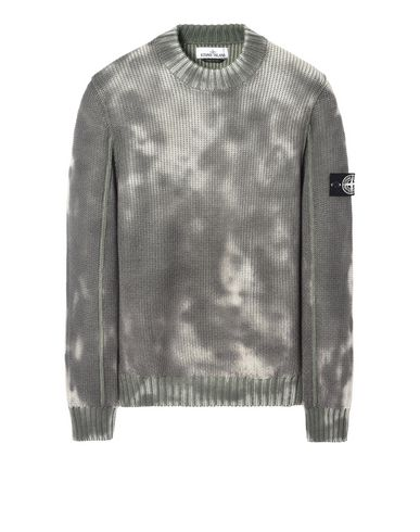 STONE ISLAND セーター 547B4 ICE KNIT_THERMO SENSITIVE YARN