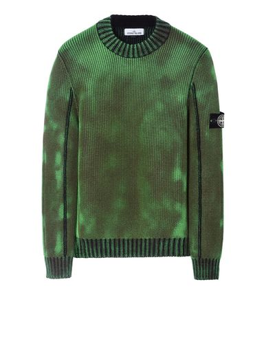 STONE ISLAND Sweater 547B4 ICE KNIT_THERMO SENSITIVE YARN