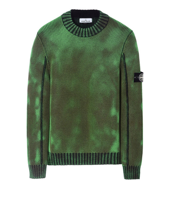 Sweater 547B4 ICE KNIT_THERMO SENSITIVE YARN STONE ISLAND - 0