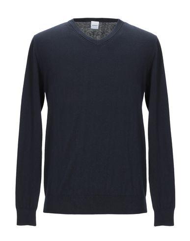 Фото - Мужской свитер ASPESI темно-синего цвета