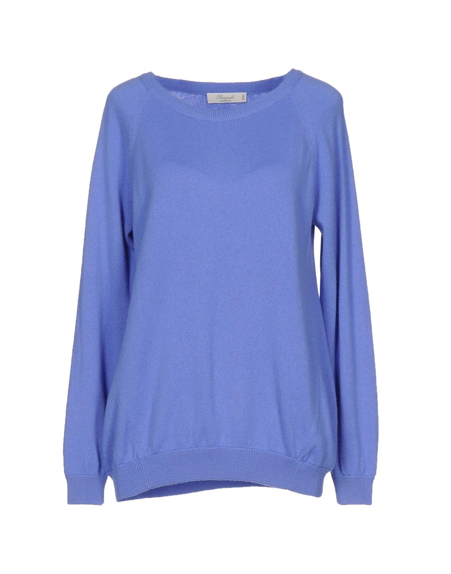 PARRONCHI Cashmere Blend in Pastel Blue