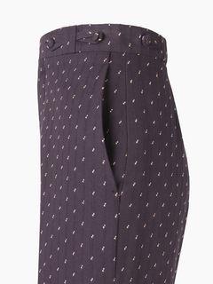 Pantaloni culotte a campana