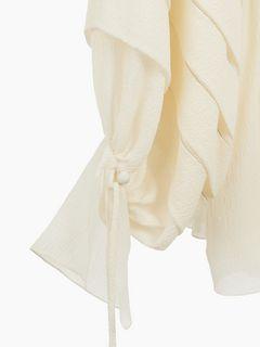 Robe courte brodée