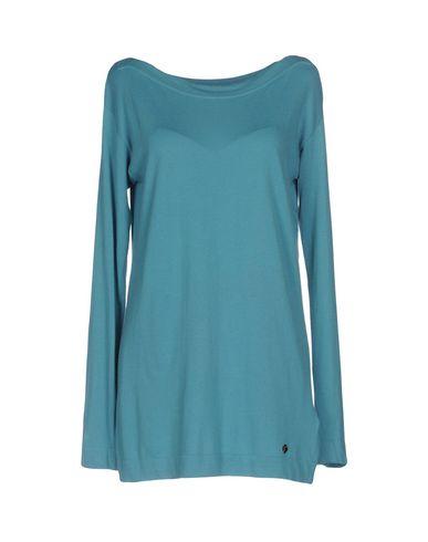 VERSACE COLLECTION Damen Pullover Azurblau Größe 34 40% Viskose 30% Polyamid 25% Polyester 5% Kaschmir