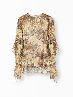 Deco cloud print top