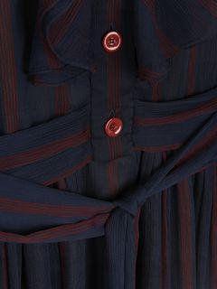 ストライプドレス