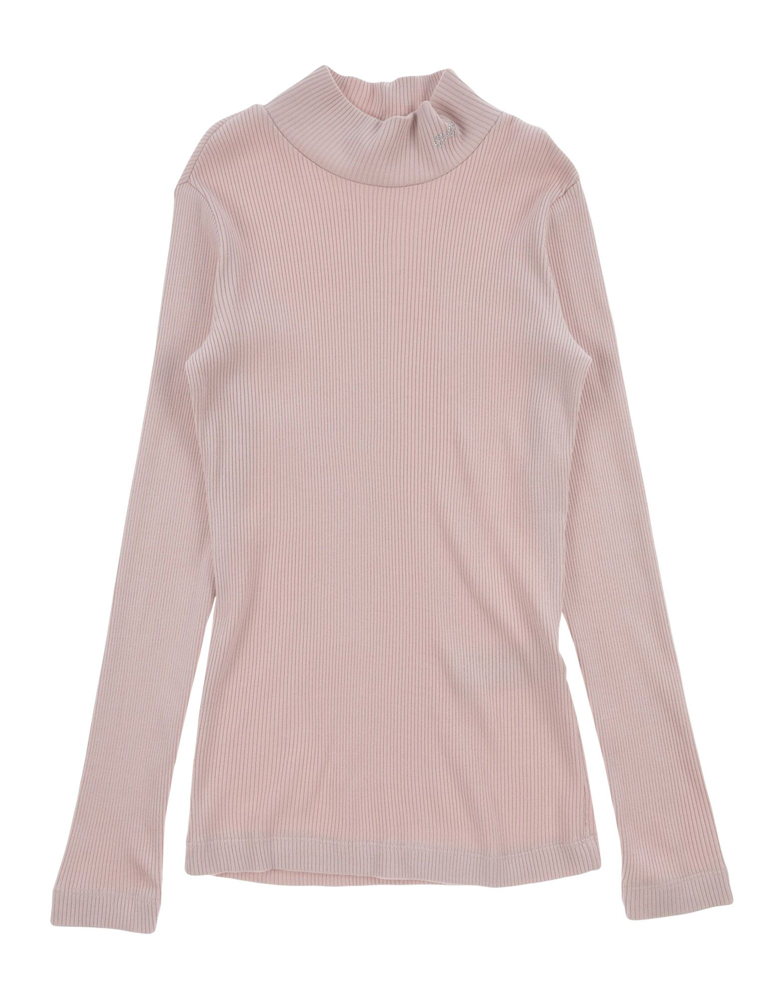 MONNALISA CHIC Turtleneck in Pale Pink