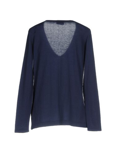 Фото 2 - Женский свитер MALÌPARMI M.U.S.T. темно-синего цвета