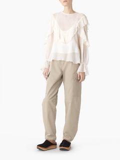 Light flouncy blouse