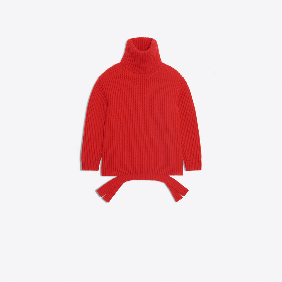 BALENCIAGA Long Sleeves Turtleneck Knitwear D f