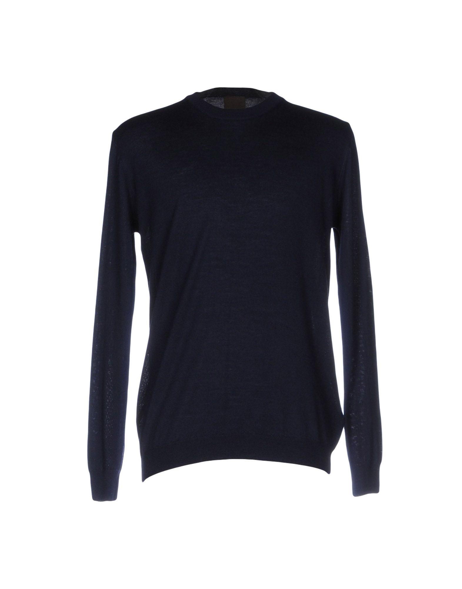 OSCAR JACOBSON Sweater in Dark Blue