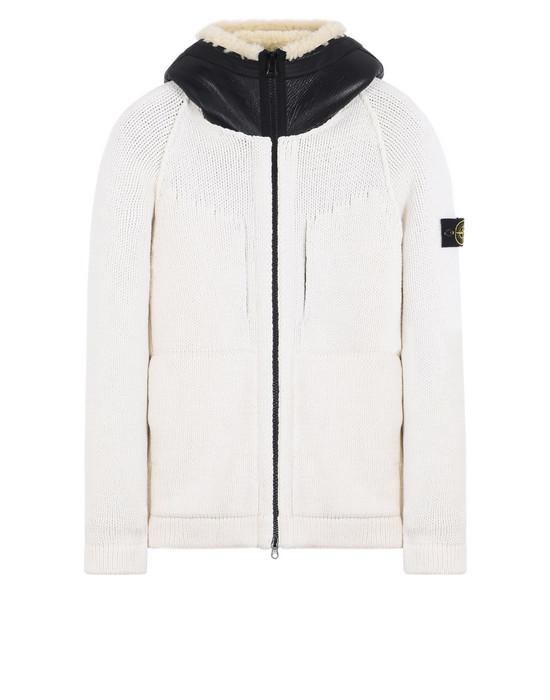 STONE ISLAND Sweater 546A2 PRESIDENT'S KNIT<br>INSIDE, REVERSIBLE BOMBER JACKET BOMBER IN NYLON/PILE/PRIMALOFT®