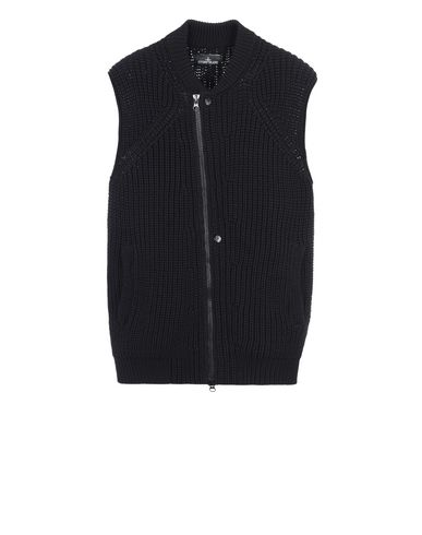 506A4 ASYM VEST (NYLON DOWN IN COTTON CAGE, 3 GAUGE)