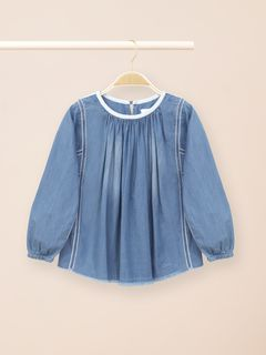 Blusa in denim