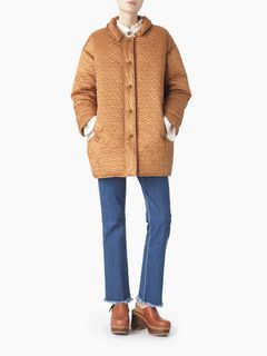 Bisou puffer coat