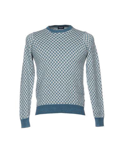 Купить Мужской свитер DRUMOHR грифельно-синего цвета