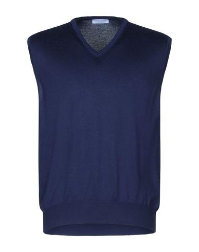 Фото - Мужской свитер GRAN SASSO темно-синего цвета