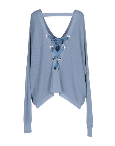 Фото 2 - Женский свитер  небесно-голубого цвета