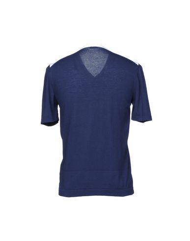 Фото 2 - Мужской свитер YOON темно-синего цвета