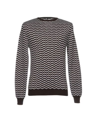 Фото - Мужской свитер BRIAN DALES темно-коричневого цвета