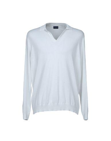 Фото - Мужской свитер DRUMOHR белого цвета